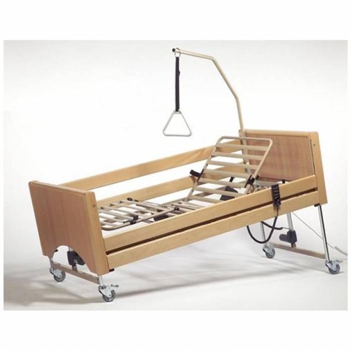 Używane łóżko Rehabilitacyjne 4 Funkcyjne Elektryczne Nowy